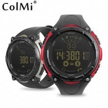 Дешевые Colmi S7 SmartWatch 50 м Водонепроницаемый ожидания 33 месяцев 24 часа Спорт мониторинга для Android IOS поля Для мужчин smart часы