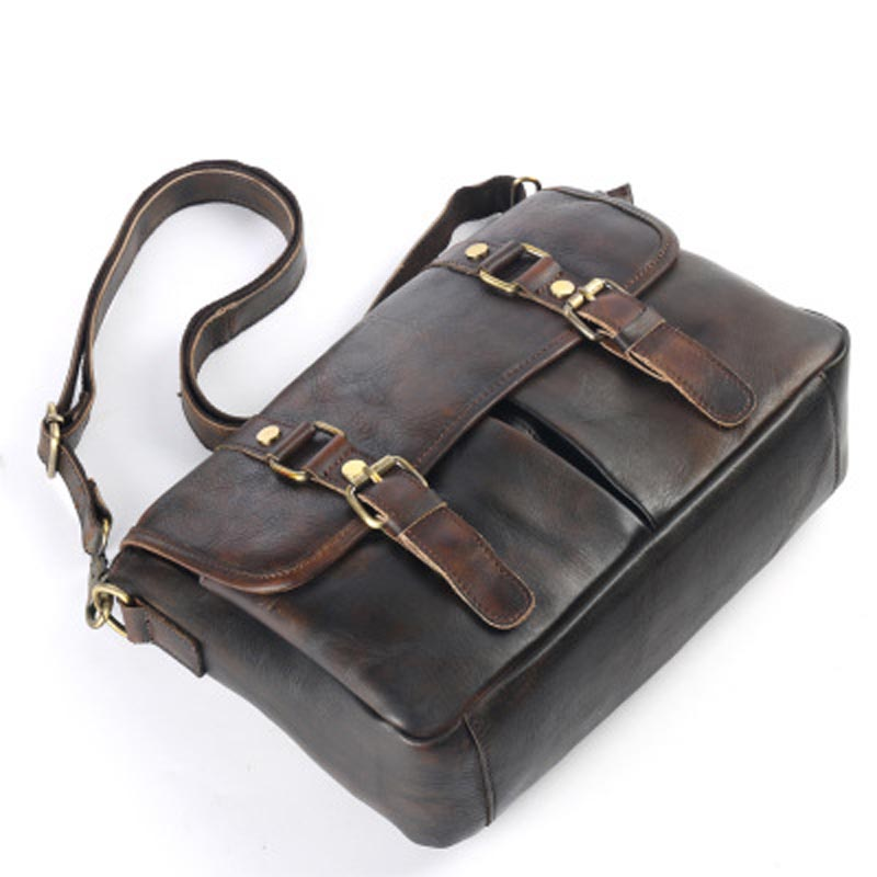 YISHEN Casual Genuine Cow Leather Men Messenger Bags Fashion Vintage Male Shoulder Bags Travel Crossbody Bags For Male LS9011 sell like cake famous brand danjue genuine cow leather men s messenger bags male shoulder bags casual fashion men s travel bags