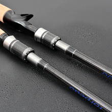 Lure Fishing Rod Ultralight Carbon Spinning Casting Rod 2.1m 2.4m 2.7m M Power 4 Sections Travel Rods Carp Feeder Fishing pole
