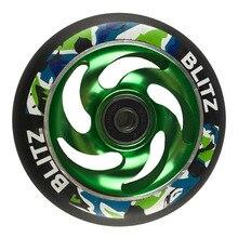 2 шт/комплект 88A 100mm колеса скутера с подшипниками колеса из сплава стали концентратора высокая эластичность и точность скорости колеса скейтборда A116
