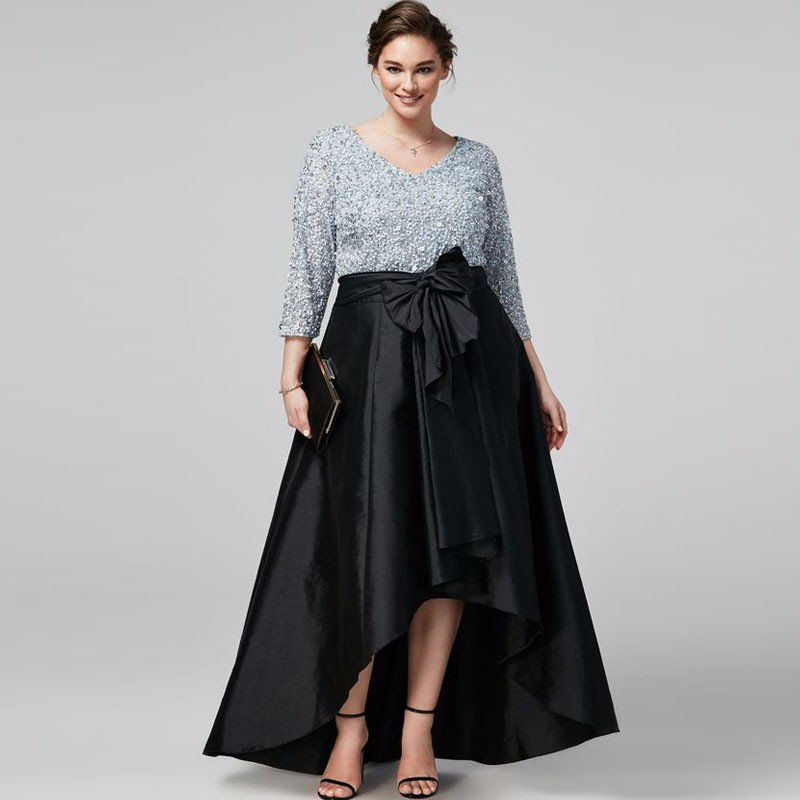 Black Formal Maxi Skirt Plus Size Promotion-Shop for Promotional ...