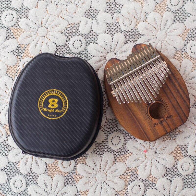 17 clés Kalimba 17 nouveau modèle africain créatif pouce Piano doigt Percussion clavier Instruments de musique enfants Marimba bois