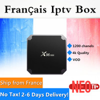 Shipping From France GOTiT X96mini Amlogic S905W Quad Core Android 7 1 2 2G 16G 4K