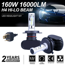 SITAILE 2 pièces voiture antibrouillard Auto Koplamp LED H1 H3 H4 LED H8 H9 H11 9006 HB4 antibrouillard met en évidence clignotant lumière courante