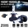 SITAILE 2PCS Car Fog Lights Auto Koplamp LED H1 H3 H4 LED H8 H9 H11 9006 HB4 Fog Lamp Highlights Turn Signal Running Light
