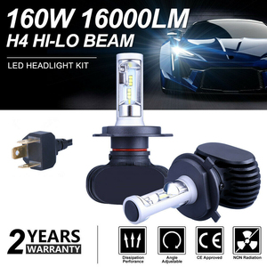 Image 1 - SITAILE 2PCS Car Fog Lights Auto Koplamp LED H1 H3 H4 LED H8 H9 H11 9006 HB4 Fog Lamp Highlights Turn Signal Running Light