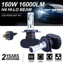 SITAILE 2PCS 자동차 안개 조명 자동 Koplamp LED H1 H3 H4 LED H8 H9 H11 9006 HB4 안개등 하이라이트 턴 신호 러닝