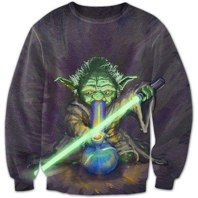 Master Yoda Men 3D Sweatshirts