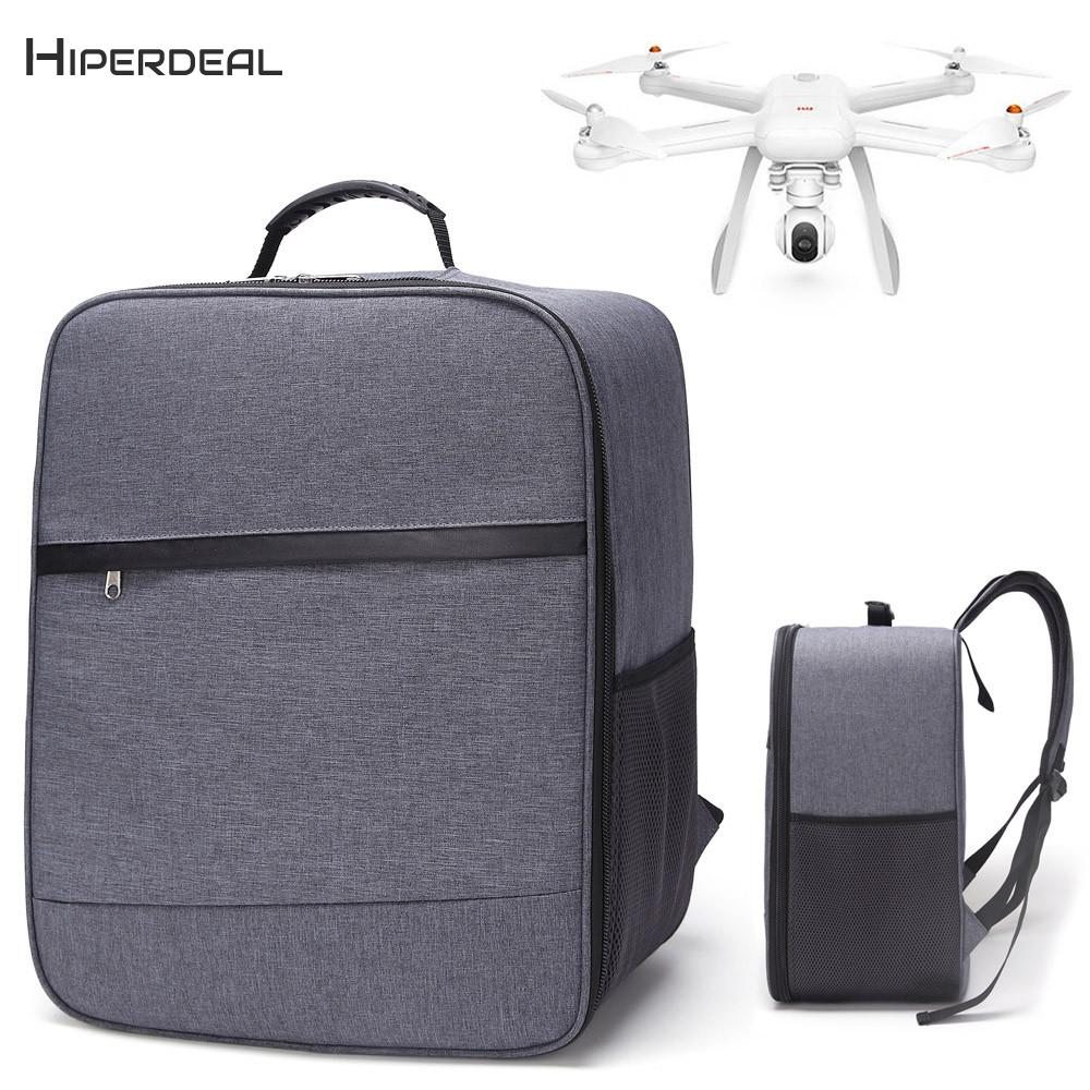HIPERDEAL 1PC NEW Outdoor Shockproof Backpack For XIAOMI Mi Drone 4K 1080P FPV RC Shoulder Bag Soft Carry Bag BAY01