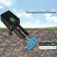 High Exactness Long Range Professional 3D Underground Metal Detector Copper/Diamond /Gold/Silver Detector Tools Treasure Tracker