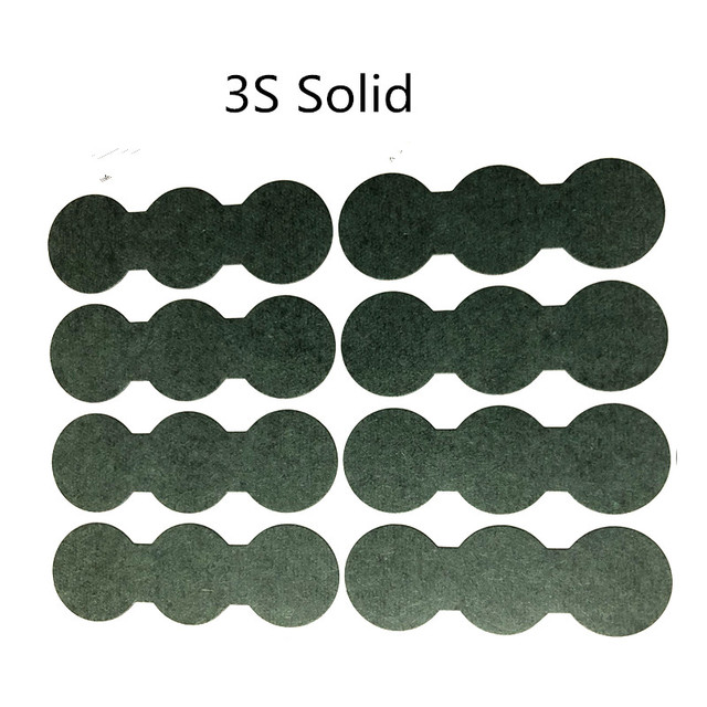 1PCS  3S Barley paper For 18650 lithium battery insulation gasket battery hollow solid gasket with adhesive 1