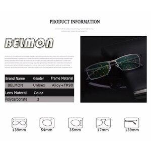 Image 4 - BELMON Multi Focal Progressive Reading Glasses Men Diopter Eyewear Presbyopic Eyeglasses +1.0+1.25+1.50+1.75+2.00+2.25+2.5 RS318