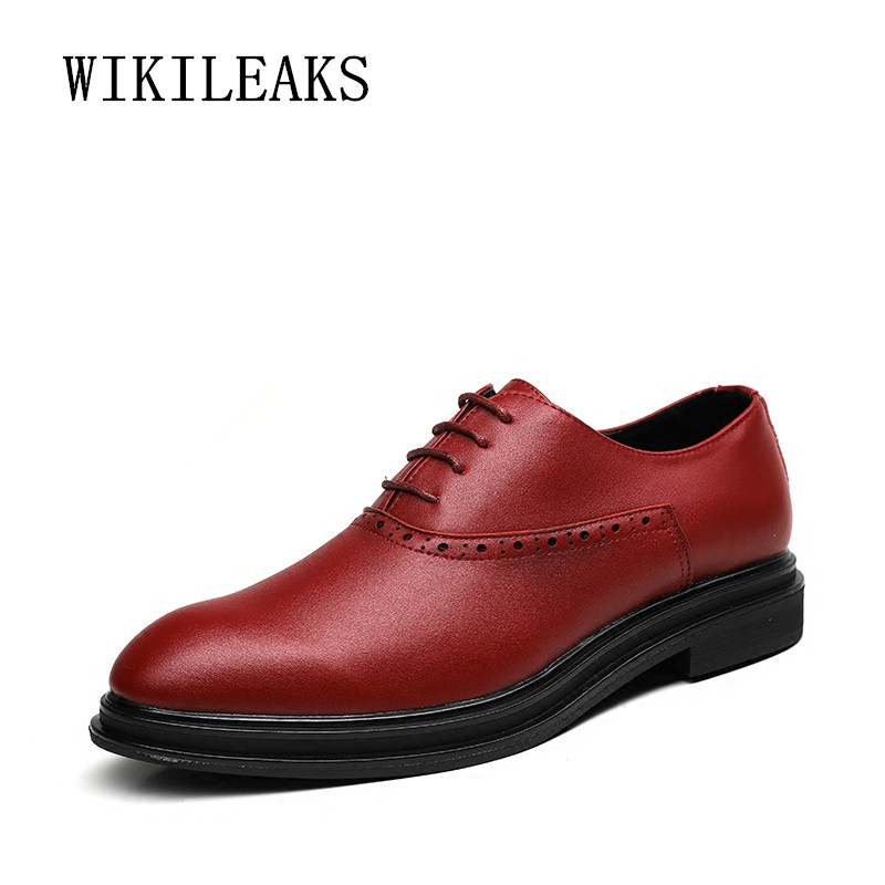 genuine leather men shoes formal wedding dress shoes oxford shoes for men platform shoes zapatos hombre casual sapato masculino