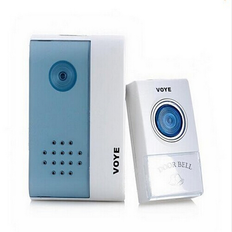 Wireless Doorbell Door Bell Remote Control Digital 36 Tunes Songs Musics Chime Alarm Electronic Doorbell waterproof doorbell led digital 2 receivers 36 tunes wireless 100m range remote control home gate security door bell kit