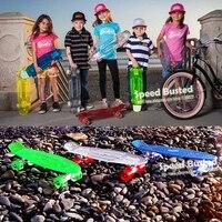 Nieuwe Peny Stijl Skateboard Board led-verlichting Compleet 22