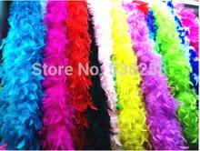 5pcs/lot Turkey Feather Boa Strip 40g 60g 80g Fluffy Craft Decoration chandelle feather boa Marabou