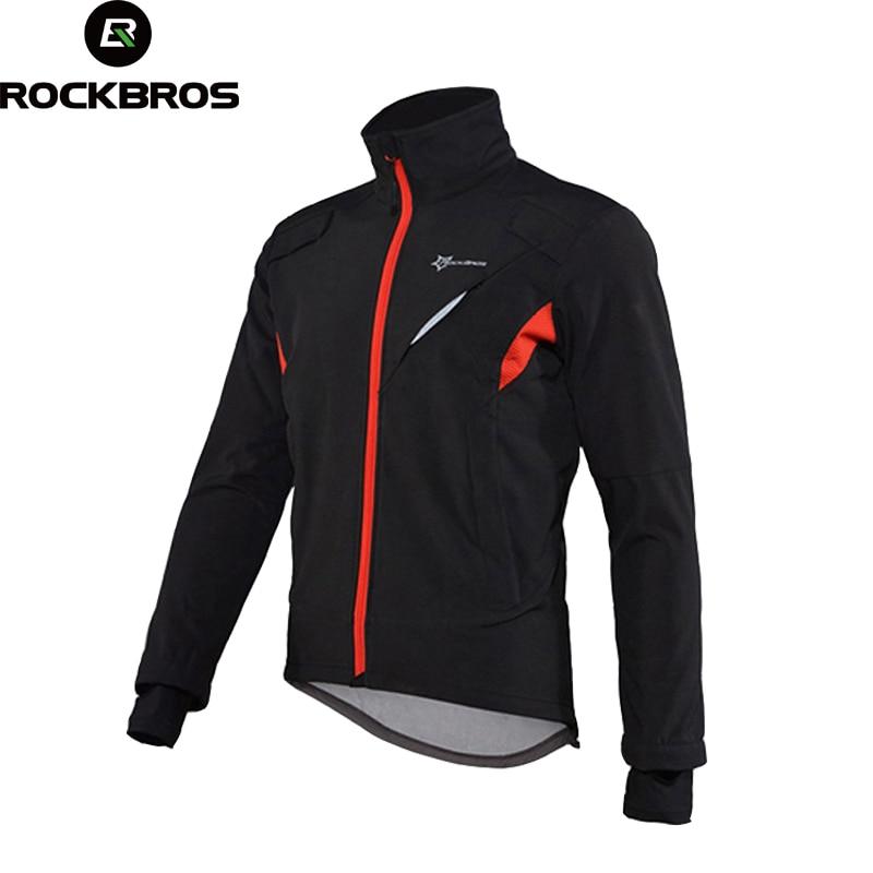 ROCKBROS Cycling Jacket MTB Road Bike Windproof Jackets Men Bicycle Clothing Winter Sportswear Long Sleeve Cycling Jersey ciclis rockbros men