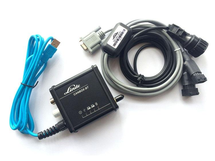 Prix pour Linde chariot élévateur camion d'origine Canbox USB Médecin De Diagnostic Câble Adaptateur de Ligne Service Boîte Camion Diagnostic Interface Outil Nouvelle Boîte