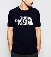 Hot Sale 2016 Summer New Fashion Men S T Shirts Star Wars The Derth Face T