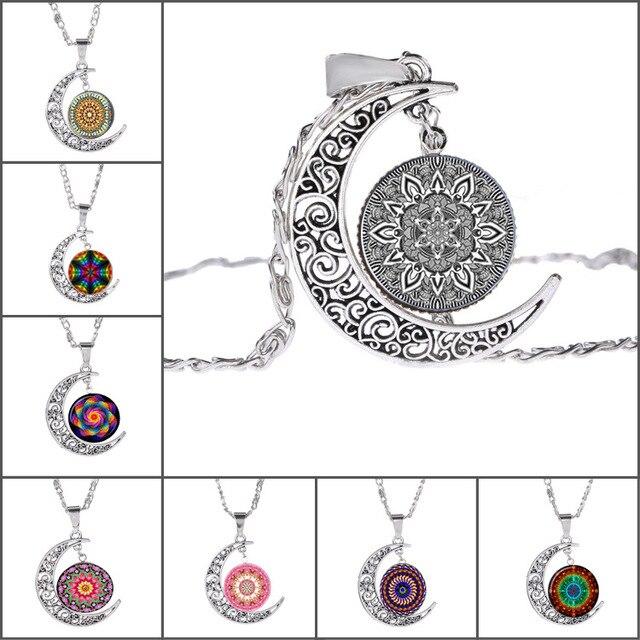 Ancient Religion Zen Om Buddhist Symbols Charm Mandala Flower