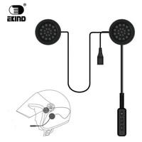 EKIND Wireless Bluetooth Headset Motorcycle Helmet Earphone Headphone Speaker Handsfree Music For MP3 MP4 Smartphone