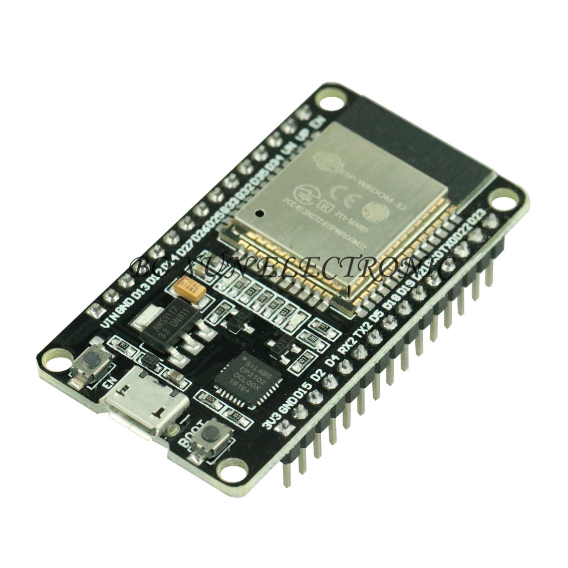 ESP32 ESP 32 ESP32S ESP 32S CP2102 Wireless WiFi Bluetooth Development Board Micro USB Dual Core Power Amplifier Filter Module-in Replacement Parts & Accessories from Consumer Electronics