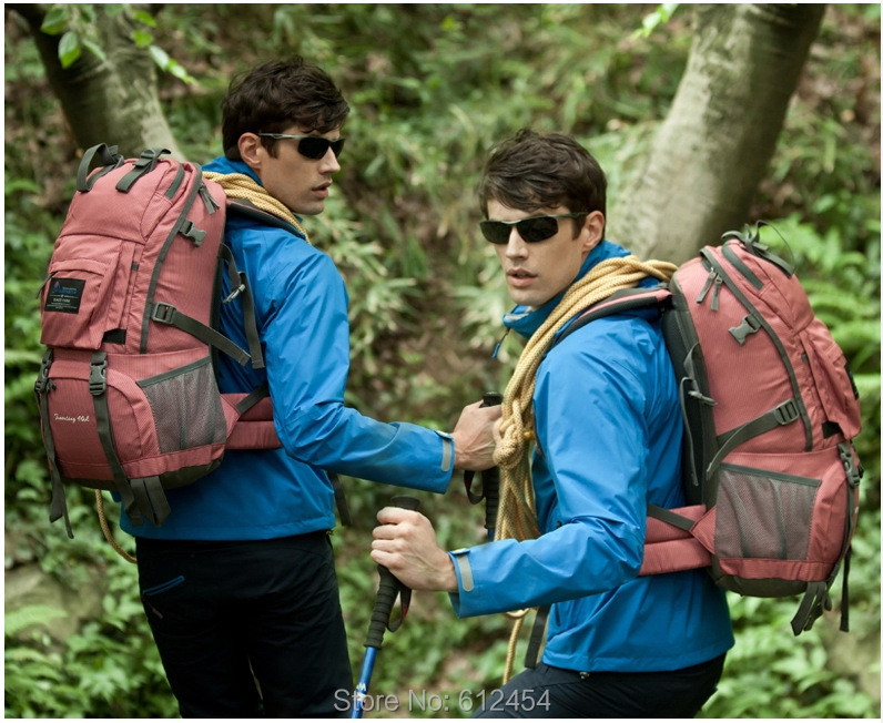 2b9cdf93fe Brand Mountaintop Mountain Bag Outdoor Camping Hiking Backpack Men Women  Travel Climping Pack Multicolor 35 45L Factory Price-in Backpacks from  Luggage ...