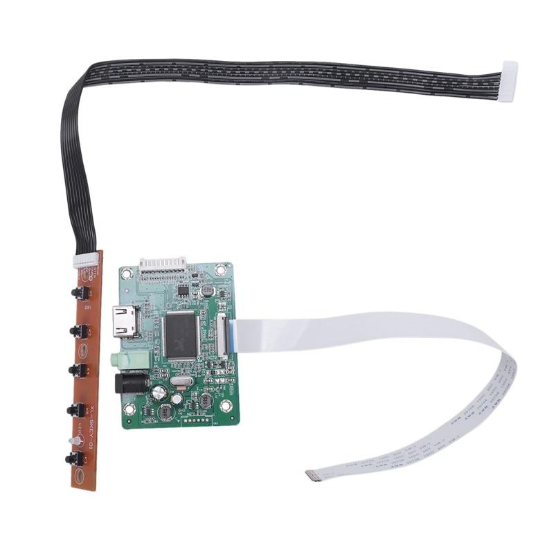 30Pin Hdmi Edp Lcd Controller Board Driver Kit Lcd Driver Board For 1080P 10.1 Inch 11.6 Inch 13.3 Inch 14 Inch 15.6 Inch 17 I