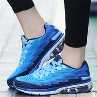 Sneakers Women Flynit Air Cushion Men And Women Light Breathable Sports Shoes Men Running Shoes Lovers