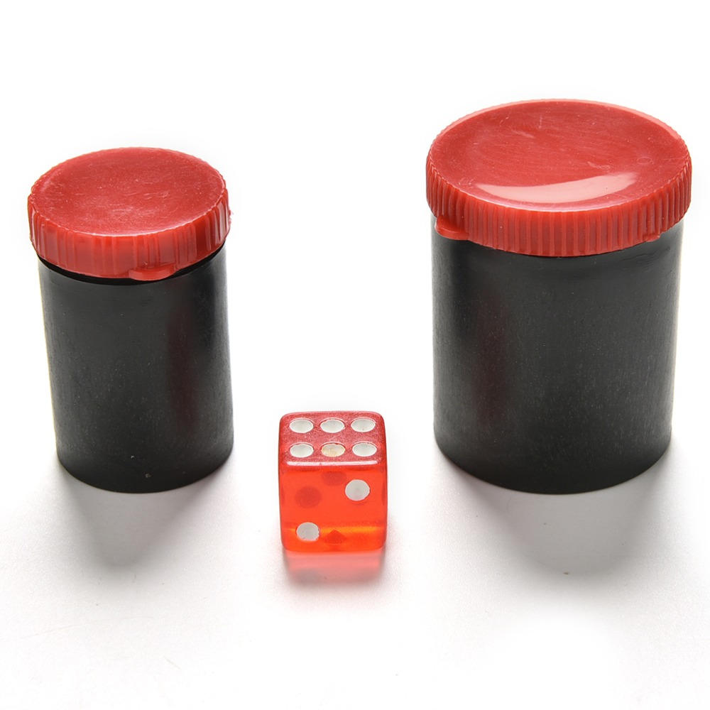 Magic Tricks Pizies 4.9cm 4cm Listen Dice Box-magic Props Magic Tricks Toys Talking Dice Telescope Binoculars Magic Toys Hot Selling Meticulous Dyeing Processes