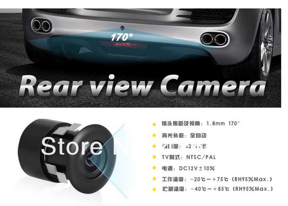 Продвижение 18,5 мм Цвет sony CCD HD Автомобильная камера заднего вида Универсальная автомобильная камера заднего вида для заднего вида 170 градусов водонепроницаемый Ip69k
