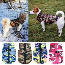 pawstrip Winter Dog Jacket Coat Waterproof Puppy Clothes Warm Small For Pomeranian Teddy XS-XL