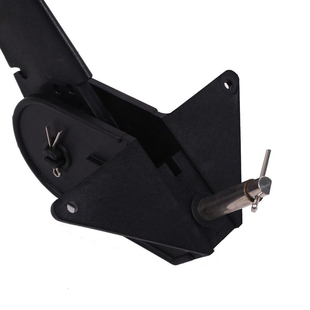 1 стекло для ПК волокно водное ремесло каноэ каяк задний руль w/Рулевая Система Черная вода спорт гребные лодки каяк руль