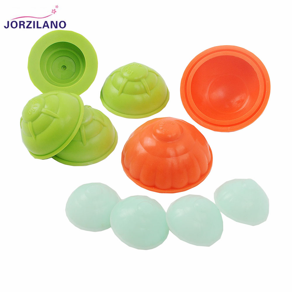 JORZILANO 10Pcs/Lot Health Care Small Body Cups Anti-Cellulite Vacuum Silicone Massage Cupping Device Set Portable Self-Adhesive 1pcs silicone health care face eye anti age cupping cups facial lifting massage silicone cupping cups health care