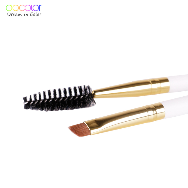 Docolor  Eyebrow Brush+Eyebrow Comb beauty eyebrow brush professional makeup brushes for eye Brow Brush blending eye 4