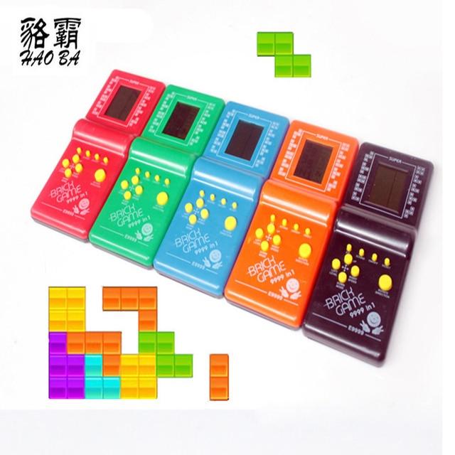 Haoba Clasico Infancia Tetris De Mano Lcd Juego Electronico Juguetes