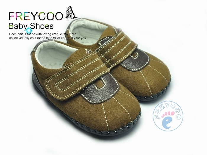 Spring and autumn baby shoes genuine leather baby shoes soft outsole indoor skidproof shoes toddler 1055