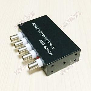 Image 2 - Mini 1 في 4 خارج 5MP 4MP 3MP 2MP AHD CVI TVI CVBS فيديو بي ان سي الموزع أمبير الخائن ل محوري التناظرية HD CCTV الأمن كاميرا