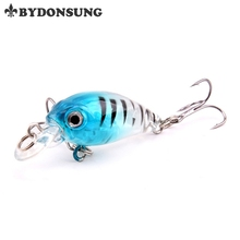 BYDONSUNG 4.5cm 4g Fishing Lures Arduous Bait Minnow Fishing Lure Bass Crankbait Swimbait Trout Crank Baits with hooks Deal with