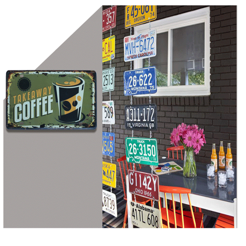 New arrival retro metal signs signs u s route 66 wall for Decoration 66