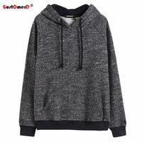 GustOmerD New 2017 Autumn Winter Fashion Hoodies Men High Quality Cotton Mens Sweatshirt Casual Style Basic