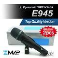 Free Shipping! 2pcs/lots Top Quality E945 Dynamic Super Cardioid Karaoke Vocal Wired Microphone e 945 Microfone fio Microfono