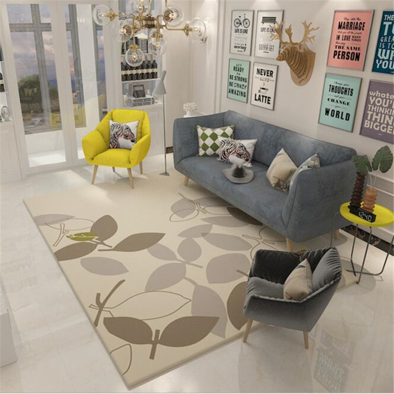 200X300cm Creative Style Modern Soft Carpet For Living Room Bedroom Kid Play Delicate Rug Home Floor Fashion Study Room Mat