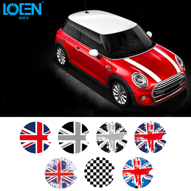 For Bmw Mini Cooper R Series Car Fuel Cap Sticker Tank Decorative Uk Flag Stickers
