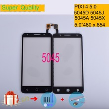 For Alcatel One pixi 4 4G 5045 OT5045 5045A 5045D 5045G 5045J Touch Screen Panel Sensor Digitizer Front Glass Touchscreen 5045X цена
