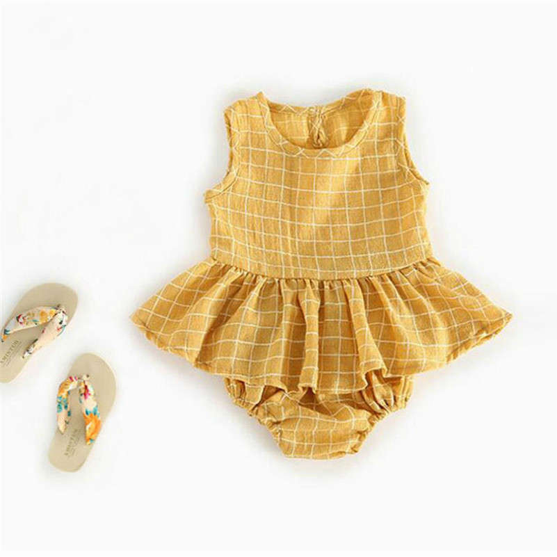 Infant Kids Baby Girl Clothes Soft Cotton Top Dress + Short Pants 2Pcs Baby Girls Outfits Set Summer Flower Girls Clothing