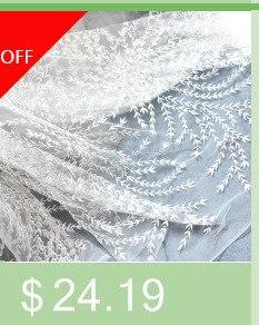 do algodão, tela da cortina do laço pelo quintal