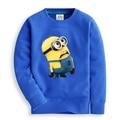 Kids/Children Autumn Minion Cartoon Sweatshirt Colorful Cotton T Shirt/Vetement/Clothes/Tees For Boys/Garcon/Enfant/Meninos