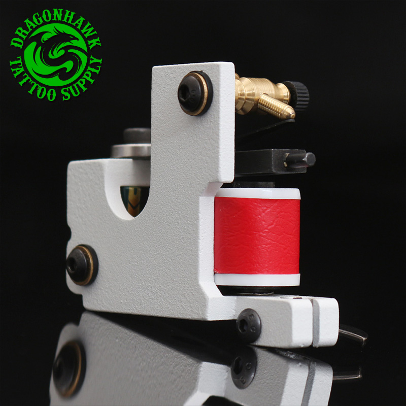 Top Quality Handmade Tattoo Machine 10 Wraps Coil Iron Tattoo Gun Tattoo Tool Liner Shader top quality customs handmade tattoo machine kit 10 wraps coil zinc alloy machine for liner and shader free shipping tm 1114