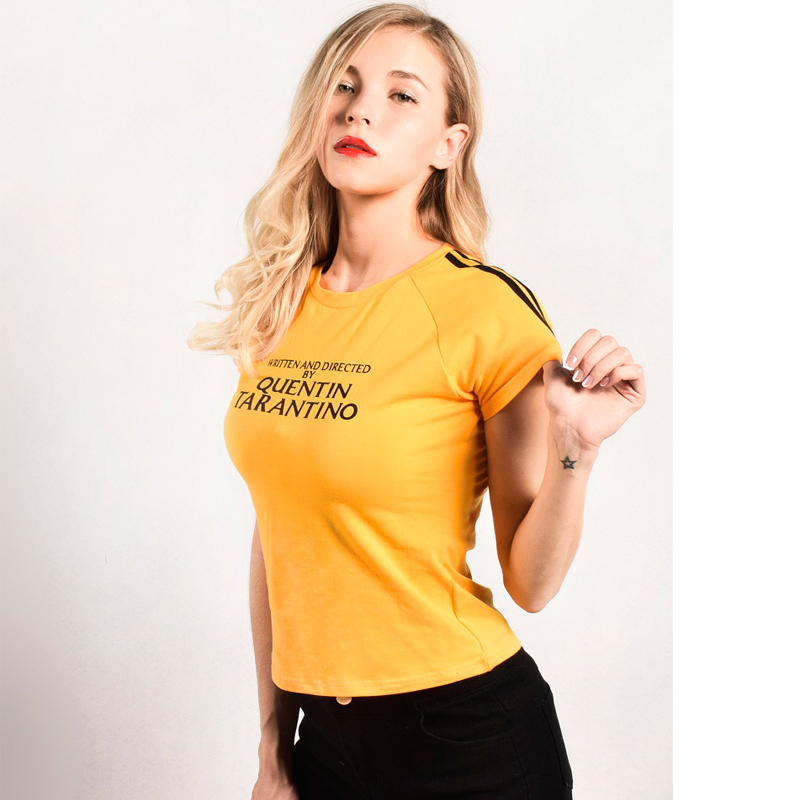 yellow-t-shirt-quentin-font-b-tarantino-b-font-letter-print-short-sleeve-o-neck-top-women-clothes-2018-fashion-casual-slim-elastic-tshirt
